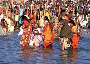 Ganga ji in prayag