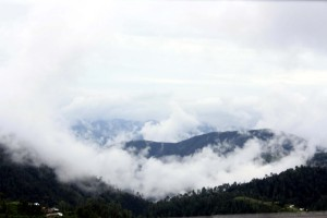 Beautiful clouds on way to shimla