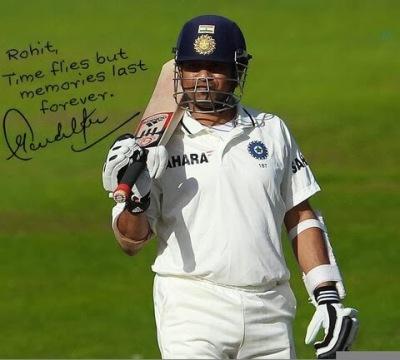 Sachin's Autograph