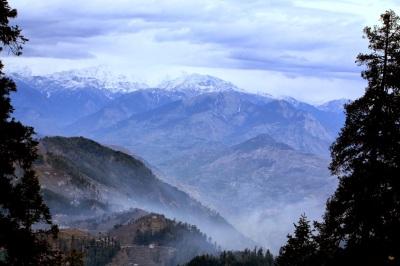 Himalayas in Narkanda