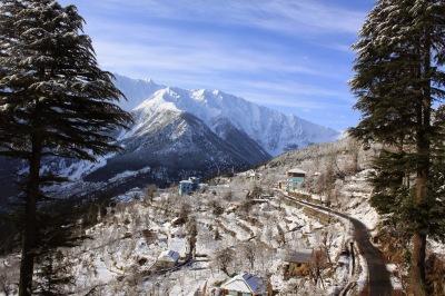 Kalpa Snow Fall