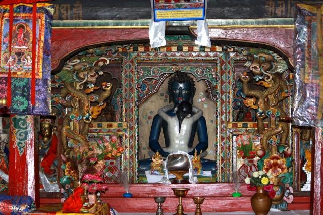 Buddha, Rinchenpong Monastery kaluk
